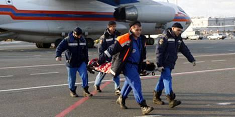 Osa Permin yökerhopalossa loukkaantuneista lennätettiin Moskovaan sairaalahoitoon.