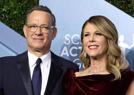 Tom Hanks ja Rita Wilson ovat olleet naimisissa 32 vuotta.