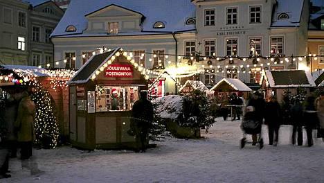 Missä maassa ja kaupungissa on tämä ihana luminen joulutori? Vastaa ja voita!