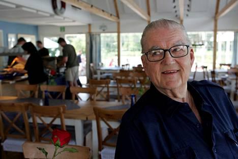 Ravintola Motin entinen keittiömestari Leo Salonen kuvattuna heinäkuussa 2005.