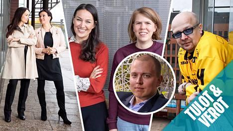 Terhi Majasalmi, Unna Lehtipuu, Jasmin Hamid, Julia Thurén, Jukka Oksaharju ja Aki Pyysing.