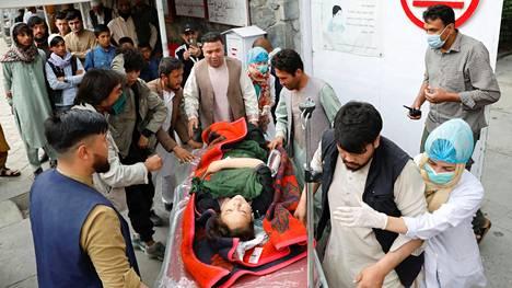Räjähdys tapahtui Afganistanin pääkaupungissa Kabulissa.