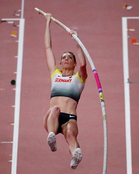 Bauer viime syksynä Dohan MM-kisoissa.