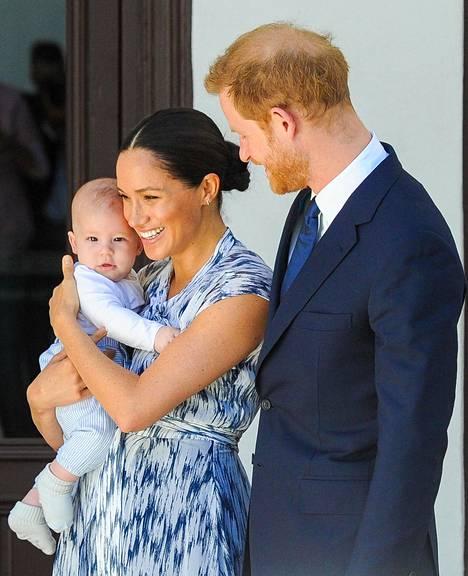 Meghan asuu nykyisin Yhdysvalloissa miehensä prinssi Harryn ja poikansa Archien kanssa.
