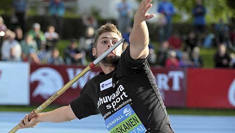 Antti Ruuskanen uskoo yli 86 metrin kaariin.