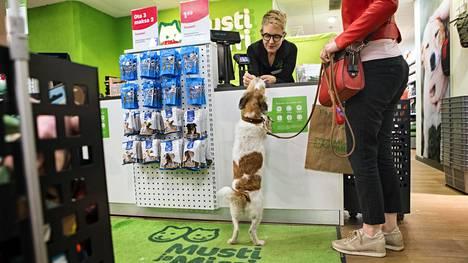 Musti ja Mirri -myymälä Helsingissä.