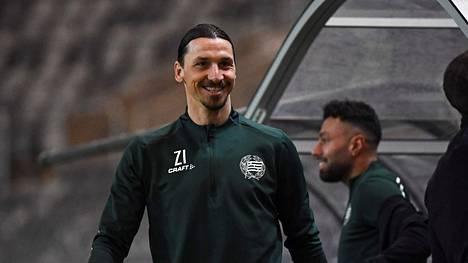 Zlatan Ibrahimovic on nauttinut treenaamisesta Ruotsissa.