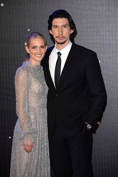 Adam Driver piti roolihahmonsa salaisuutena jopa vaimoltaan Joannelta.