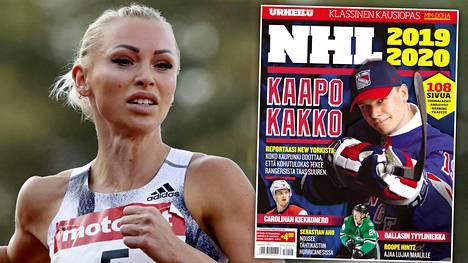 Aitajuoksun suomenennätysnainen Annimari Korte aloitti tällä viikolla Urheilulehden kolumnistina.