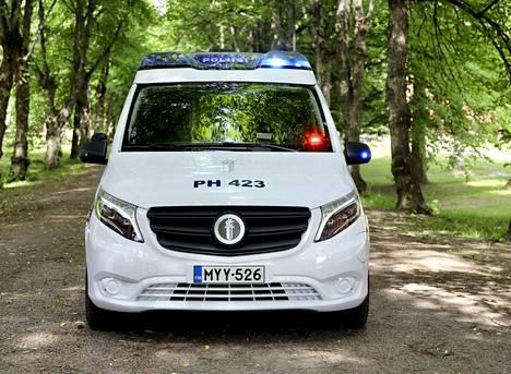 Lahdessa eVito -partioauto sijoitetaan valvonta- ja hälytystoimintaan.