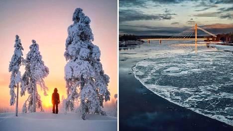 Essin kuvat Suomen Lapista lumoavat – näiden maisemien kauneuteen hän ei koskaan kyllästy