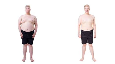 Ennen ja jälkeen -kuvapari paljastaa Aarni Mikkolan uskomattoman muodonmuutoksen.