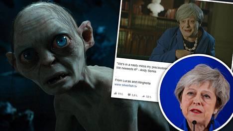 Näin käy, kun Klonkku valtaa Theresa Mayn hahmon ja keskustelee brexit-sopimuksesta – brittinäyttelijä palasi rooliinsa hupaisalla videolla
