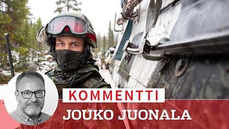 Yhteistyö Naton kanssa pysyy tiiviinä. Puolustusvoimat otti osaa Naton Trident Juncture -sotaharjoitukseen Norjassa kaksi vuotta sitten.