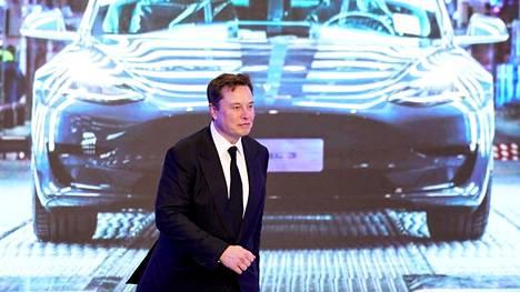 Teslan toimitusjohtaja Elon Musk.