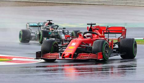 Vettelin kausi 2020 on ollut radalla vaikea, mutta Turkissa hän nousi palkintopallille.