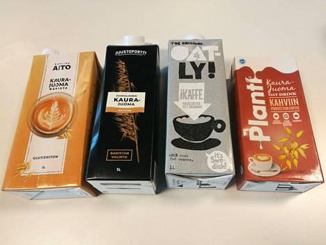 Testissä neljä tuotetta oli suunniteltu kahvin kanssa nautittavaksi. Niissä oli myös suurimmat rasvamäärät juuri siitä syystä.