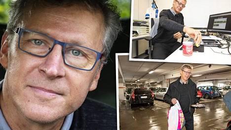 Markku Kanerva yrittää pitää kiinni rutiineistaan – koronaviruksen aiheuttamia rajoitteita noudattaen.