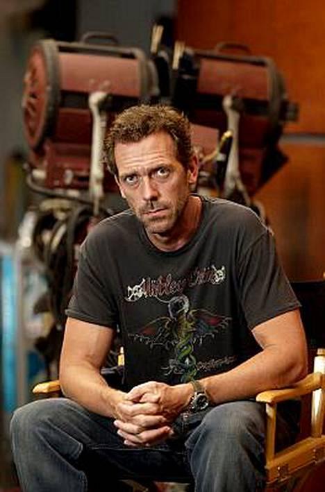Hugh Laurie sijoittui äänestyksessä toiseksi.
