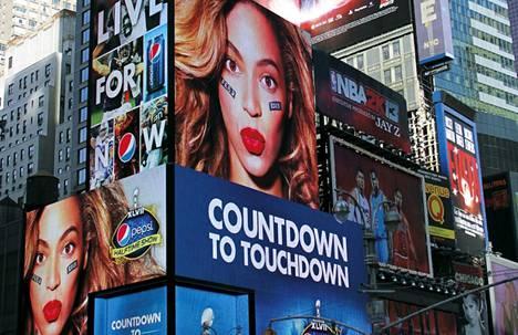 Beyonce hehkutti nettisivuillaan tulevaa Super Bowl -esiintymistään.