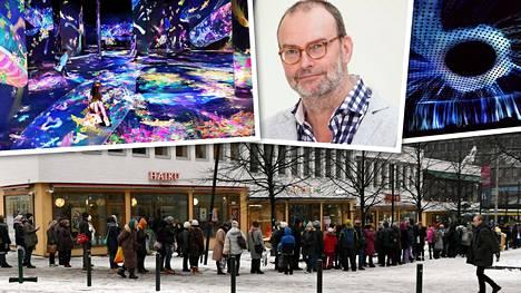 Amos Rexin avajaisnäyttelyn näki miltei 270 000 katsojaa. –Alku oli tosi kannustavaa ja toivomme tietysti hyvää vuotta, museonjohtaja Kai Kartio sanoo.