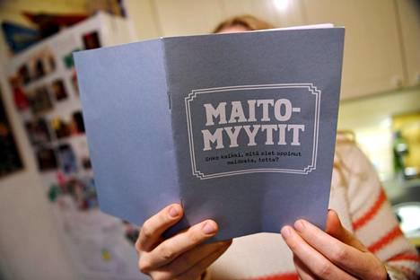 Ruotsalaisen kaurajuomavalmistaja Oatly AB:n Maitomyytti-kirjassa sanotaan, että maito- ja lihateollisuus aiheuttavat hirvittävät ilmastopäästöt. Kirjaa on lähetettty suomalaisille postissa.