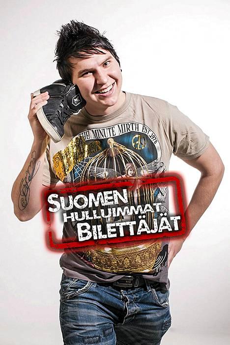 Iiro Hokka, 24, Helsinki.