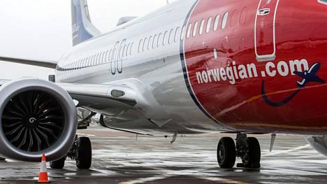 Norwegianilla on toistakymmentä samanlaista Boeing 737 Max 8 -konetta, joista osa operoi myös Suomen reiteillä.