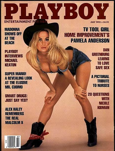 Cowboy-tyttö vuodelta 1992.