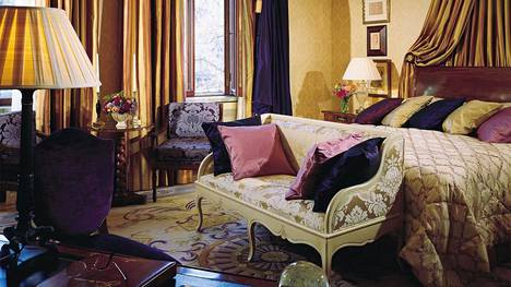 Mannerheim-sviitti on Hotel Kämpin ylpeydenaihe.