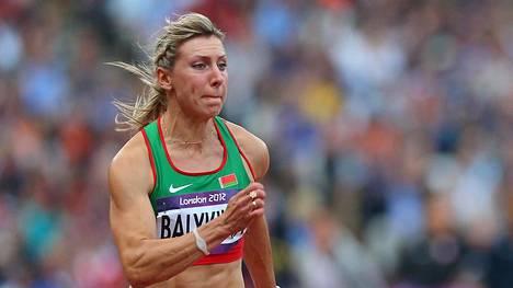 Julija Balykina osallistui Lontoon olympiakisoihin.