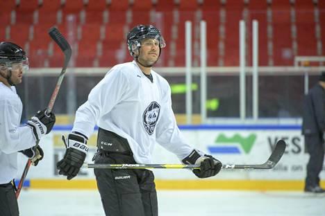 Jonne Virtanen syksyllä 2019, ennen kuin kaikki meni TPS:ssä pieleen.