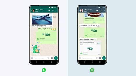 Facebook on liittänyt rahansiirrot osaksi WhatsAppia Brasiliassa.