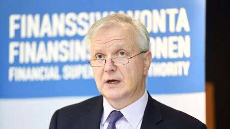 Finanssivalvonnan johtokunnan puheenjohtaja Olli Rehn