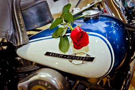 Moottoripyöräily oli Jyrkille rakas harrastus.