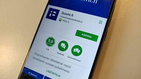 Suomi.fi-sovellus Google Play -kaupassa.