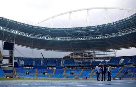 Rion olympialaisten alla Brasiliassa kuohuu.