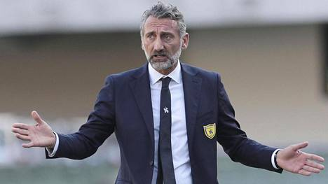 Lorenzo D'Anna ei ehtinyt nostaa Chievoa nollakerhoon tällä kaudella.