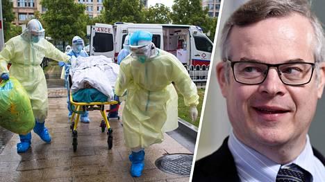 Lasse Lehtosen mukaan myös jo sairastaneiden karanteenia tulee pohtia, kun koronavirus onkin aiempaa pidempään tarttuva.