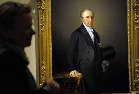 Kokkolan vastarinnan organisaattorin, kauppaneuvos Anders Donnerin muotokuva on ollut nähtävillä Presidentinlinnassa. Anders oli Jörn Donnerin isoisän isä.