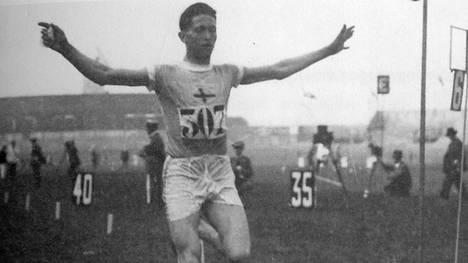 Elias Katz oli yksi Suomeen olympiakultaa 1924 voittaneista juoksijoista.