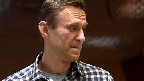 Oppositiovaikuttaja Aleksei Navalnyi kärsii parhaillaan vankeusrangaistusta.