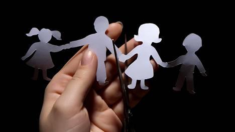 Osassa avioeroista huoltajuuskiistat muuttuvat repiviksi.