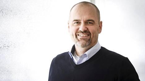 STT:n uusi toimitusjohtaja Kimmo Laaksonen.