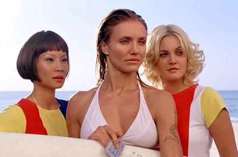 2000-luvun enkelit eli Lucy Liu, Cameron Diaz ja Drew Barrymore.