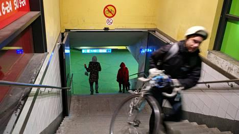 Uutta toimintamallia kokeillaan ensimmäisenä Helsingin rautatieaseman pyöräily- ja jalankulkutunnelin urakassa.