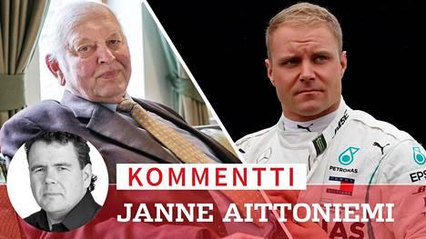 Kommentti: Valtteri Bottaksen paineet onnistua kasvoivat entisestään – tätä päätukijan lähtö tarkoittaa