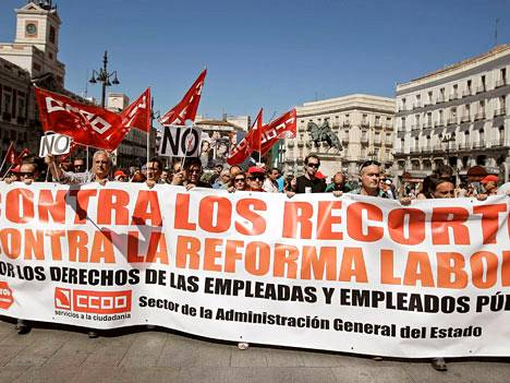 Tähän on totuttuva Espanjassa.