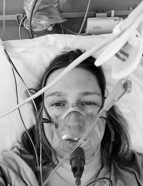 Heinin olo oli tukala sairaalassa.