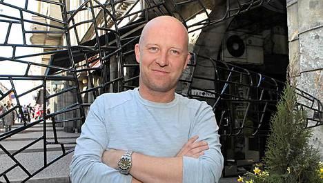 Huippukokki Stefan Richter söi ravintola Kosmoksessa Helsingissä viime kesäkuussa.
